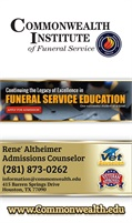 Commonwealth Institute Of Funeral Service