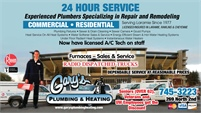 Gary's Plumbing & Heating, Inc.