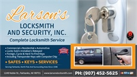 Larson's Locksmith & Security, Inc.