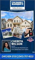 Coldwell Banker Valley Brokers - Cherita Wilson