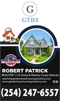 Greater Texas Housing Solutions - Robert Patrick