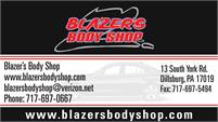Blazer's Body Shop