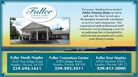 Fuller Funeral Home – Cremation Service