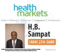 HealthMarkets Insurance - H.B. Sampat
