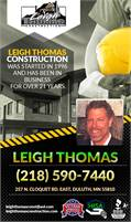 Leigh Thomas Construction