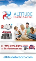 Altitude Heating And Air Inc