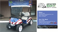 Apache Main Golf Cars