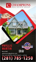 Champions Real Estate Group - Phyllis Martin