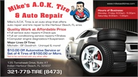 Mike's A.O.K. Tires & Auto Repair