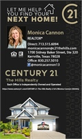 CENTURY 21 The Hills Realty - Monica Cannon